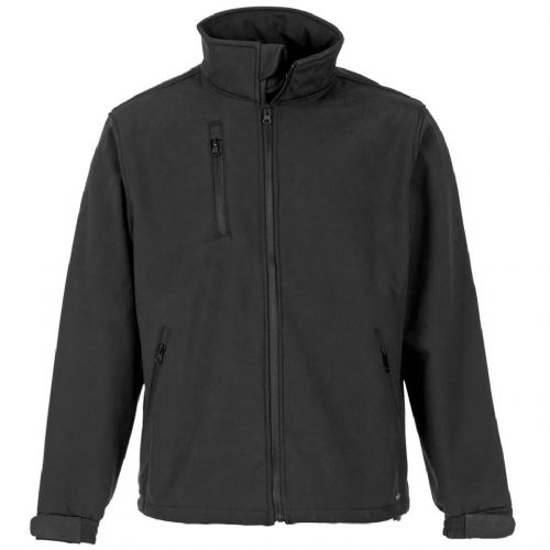 Supertouch Black Verno Soft Shell Jacket